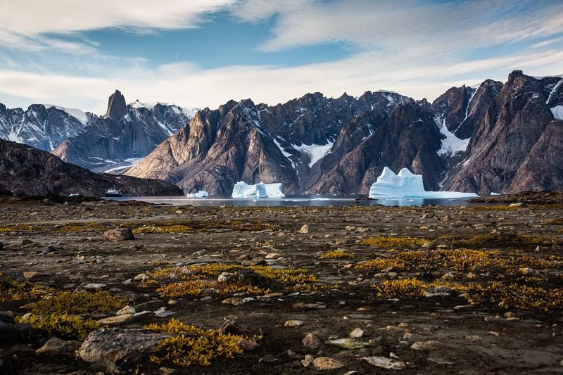 Montañas en Groenlandia