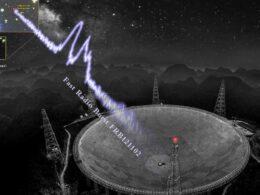 Detectan más de 1.600 ráfagas rápidas de radio provenientes de una sola fuente en solo 47 días